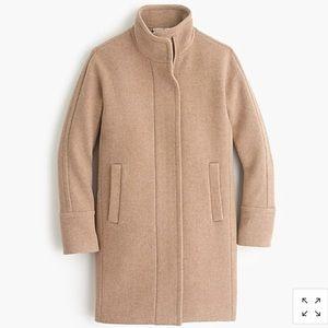 New J.Crew Stadium-Cloth cocoon Coat Size 4
